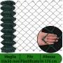 2PZ Rete per recinzione PLASTIFICATA   Altezza H 175 cm   Maglia sciolta 50x50 mm   Filo Ø 2,3 mm   Lughezza Rotolo da 25 mt per